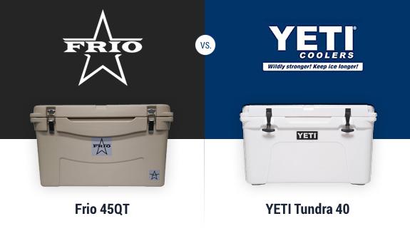 Frio Coolers versus YETI