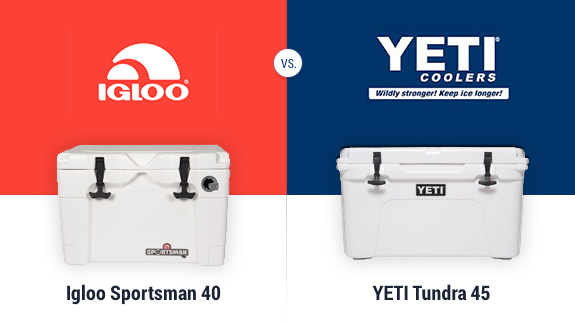 Igloo Sportsman versus Sasquatch Tundra