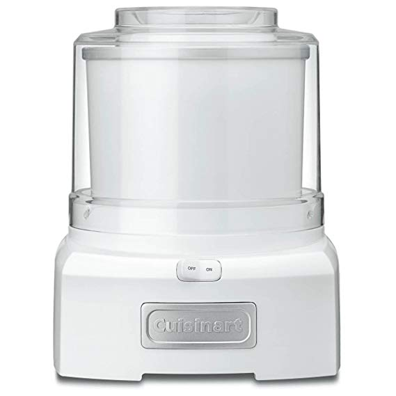 Cuisinart ICE-21 1.5 Quart Frozen Yogurt–Ice Cream Maker