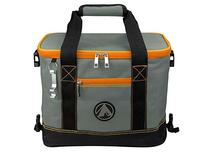 GigaTent Orange Insulated Collapsible Cooler