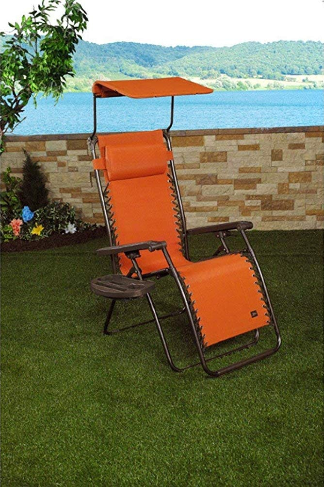 Bliss Hammocks Zero Gravity Chair With Canopy