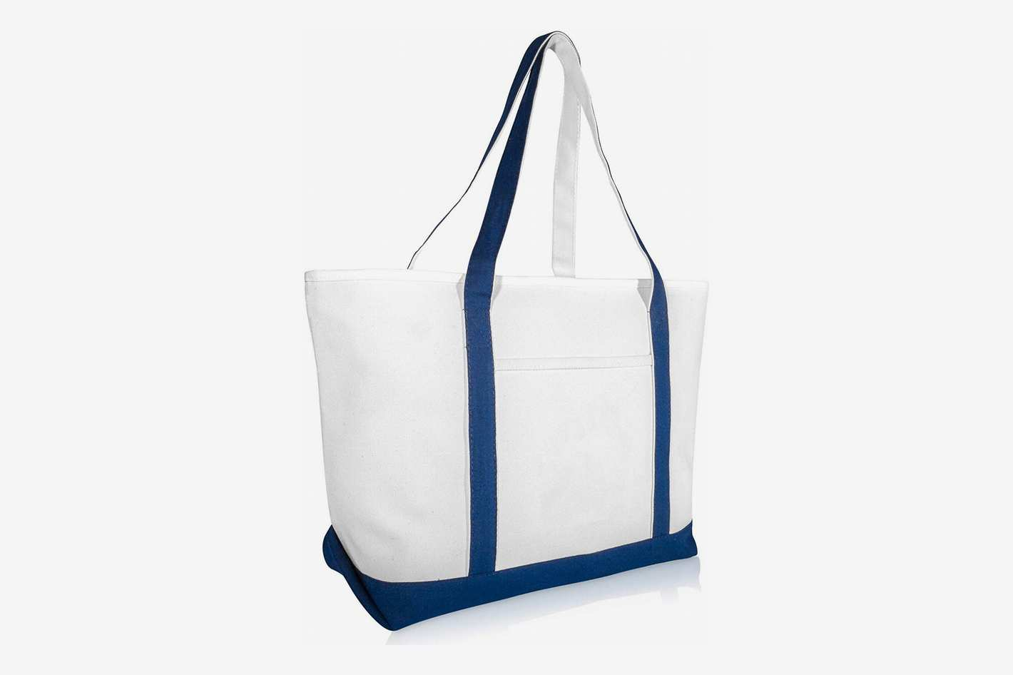 DALIX 23 Premium 24 oz. Cotton Canvas Shopping Tote