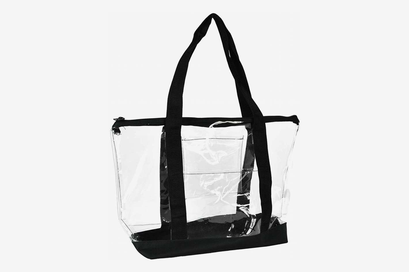 DALIX Clear Shopping Bag