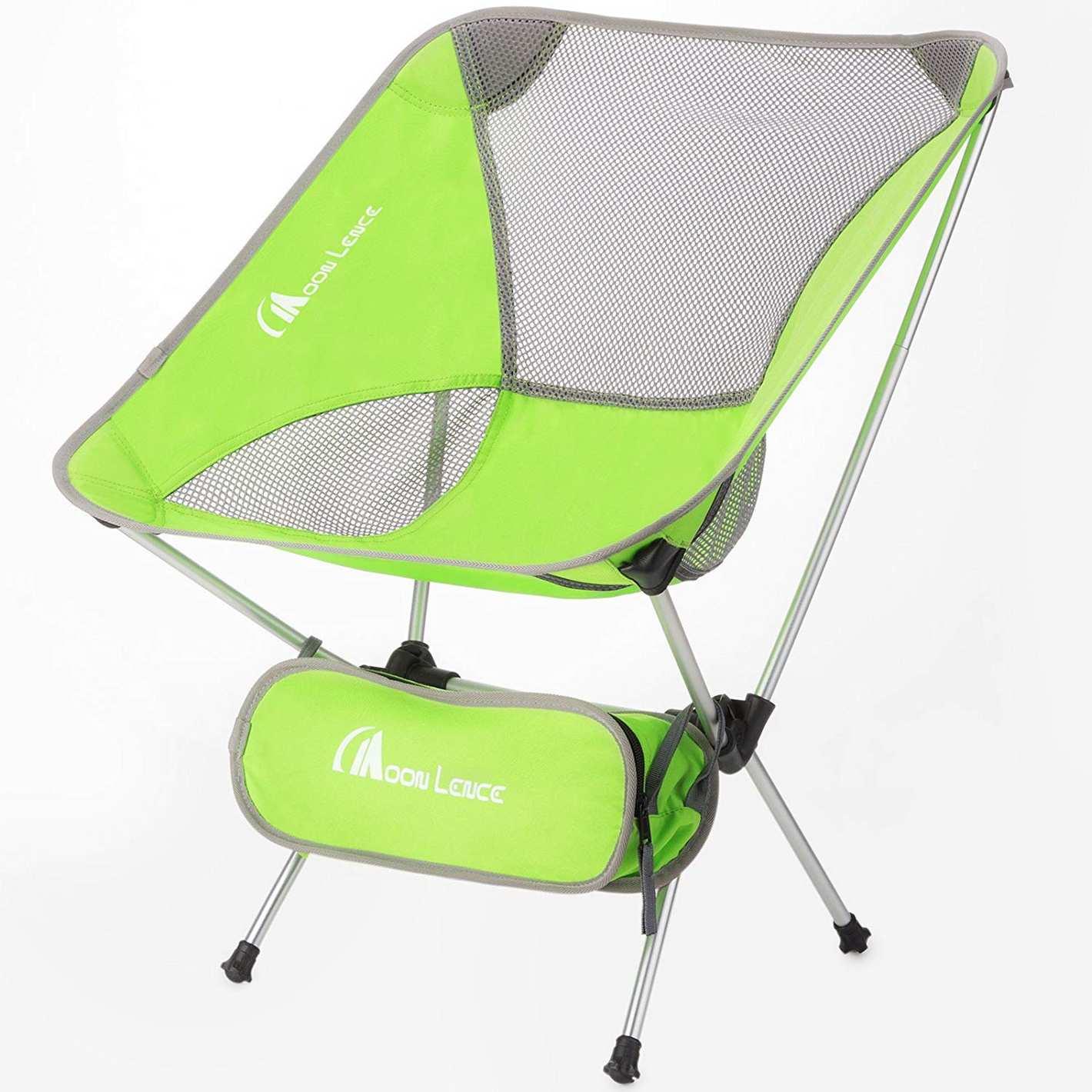 MOON LENCE Ultralight Folding Camping Chair