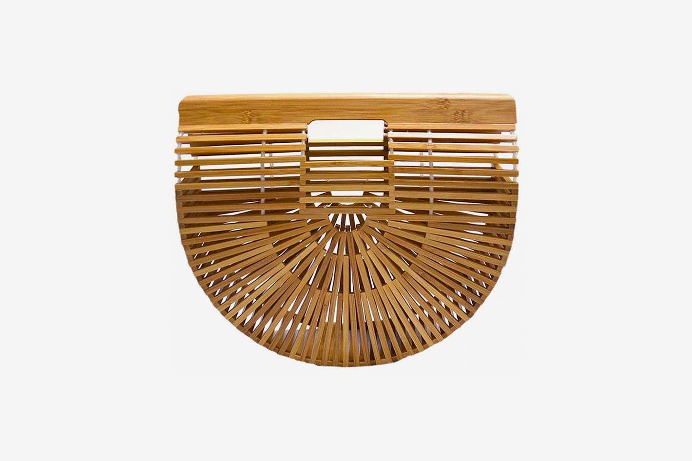 Miuco Womens Bamboo Handbag